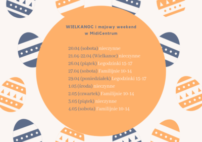 Wielkanoc i weekend majowy